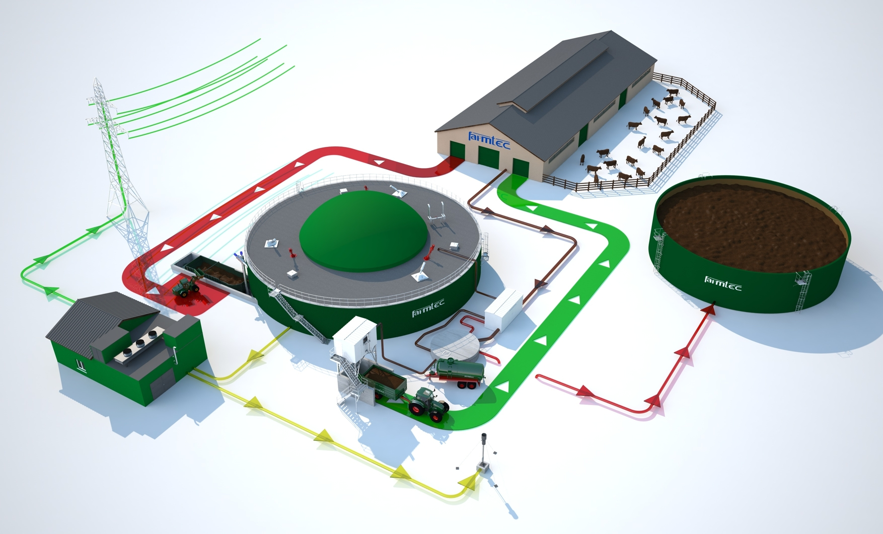 Biogas Plant Design in india - Meghna Solutions Pvt Ltd
